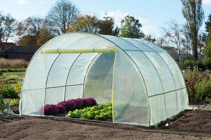 serre tunnel de jardin 13m densit 150g m jardinet. Black Bedroom Furniture Sets. Home Design Ideas