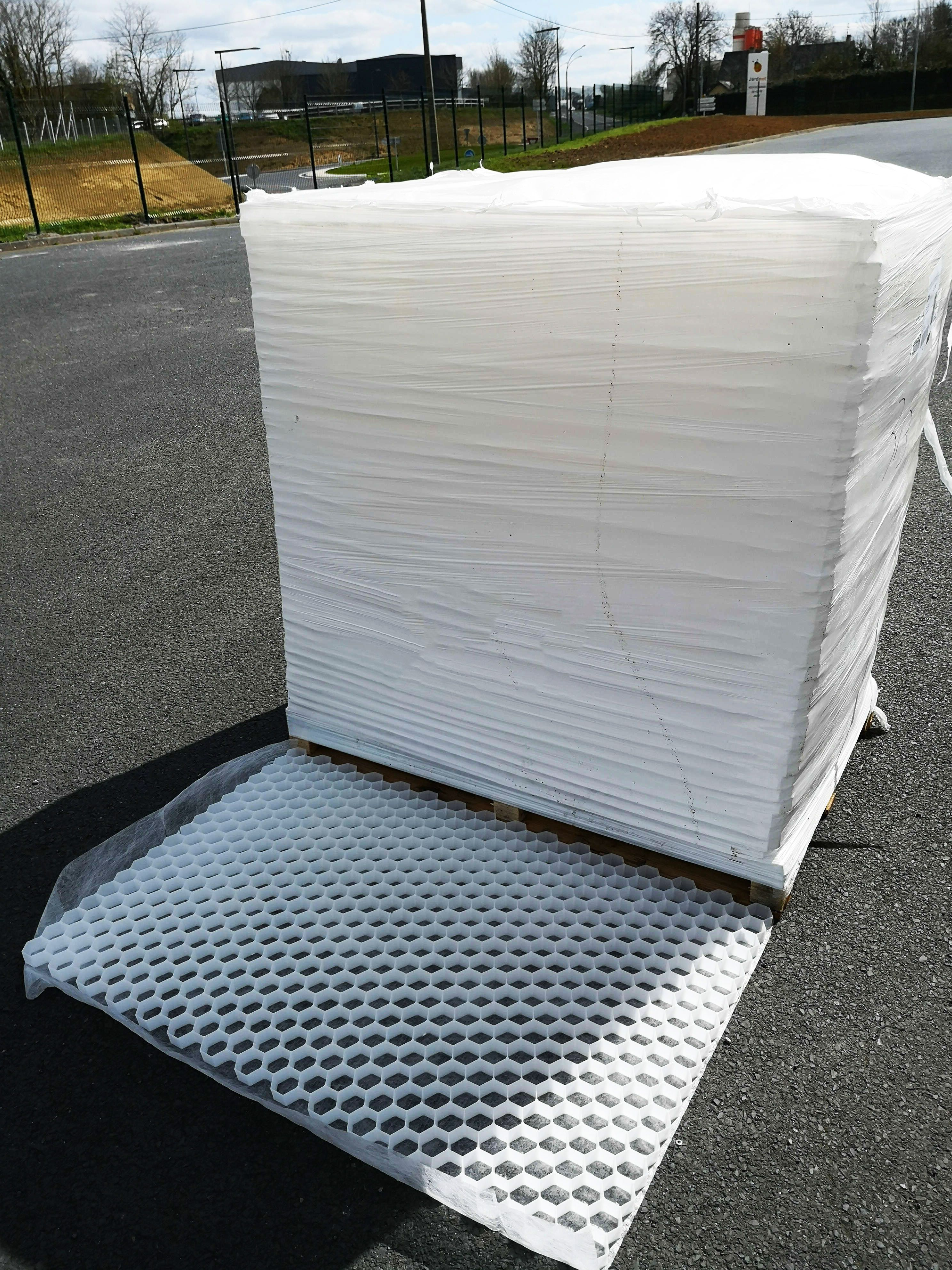 Acheter Gravier Pour Allée palette de 38m² eccogravel 30 - stabilisateur de graviers - franco