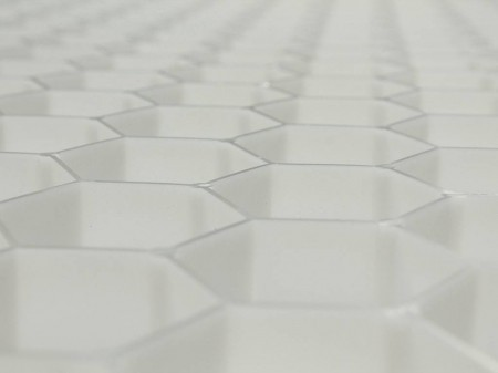 stabilisateur de graviers eccogravel 40 blanc 0 80m x 1. Black Bedroom Furniture Sets. Home Design Ideas