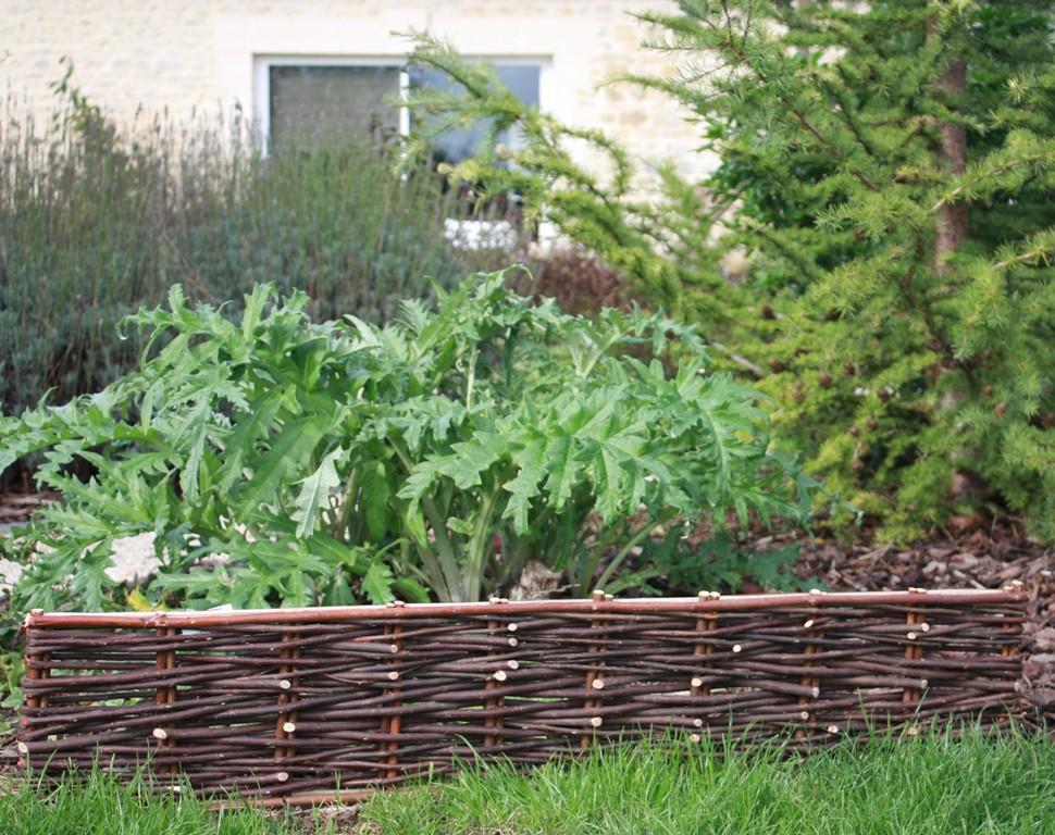 Un grand choix de produits destin s la r alisation et l 39 entretien de votre jardin - Bordure jardin bois tresse ...