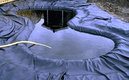 B che bassin epdm 0 8mm 3m x 30m for Bache pour bassin largeur 3m