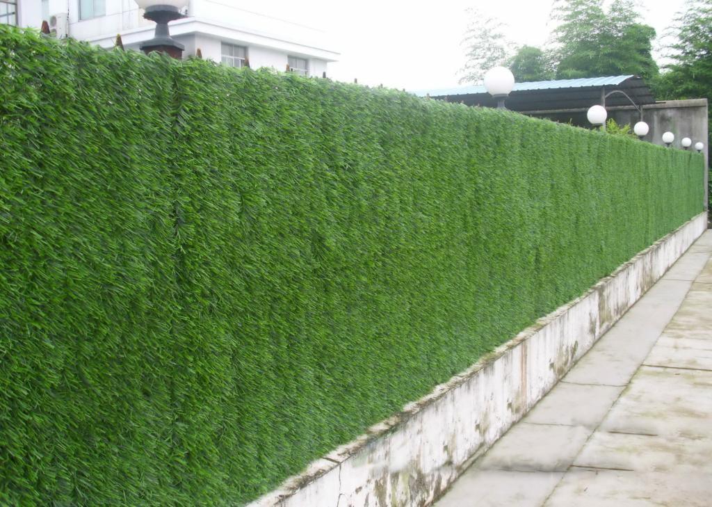 haie artificielle supr me vert sapin 1 50m x 3m jardinet. Black Bedroom Furniture Sets. Home Design Ideas