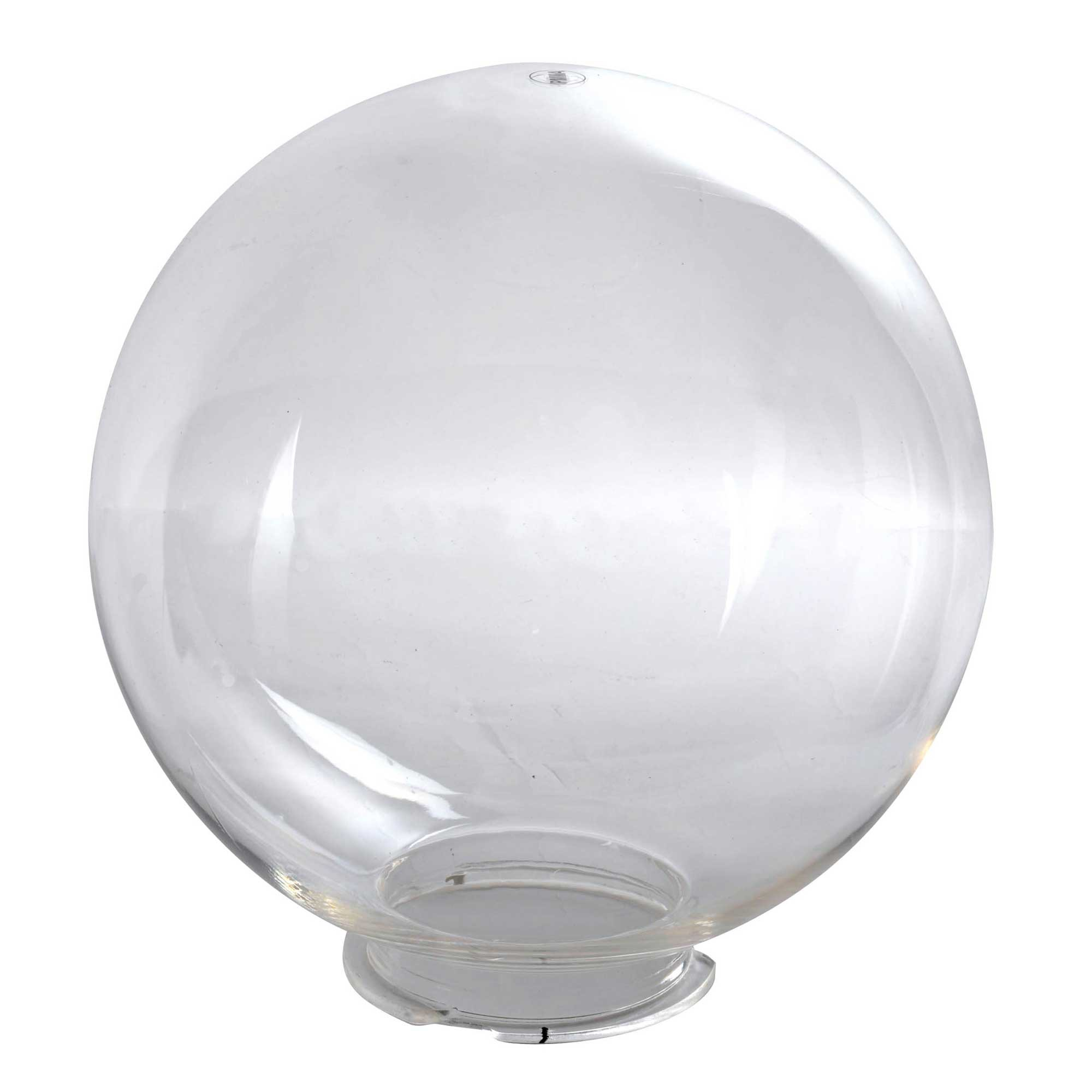 Globe transparent d 35cm jardinet for Globe luminaire interieur