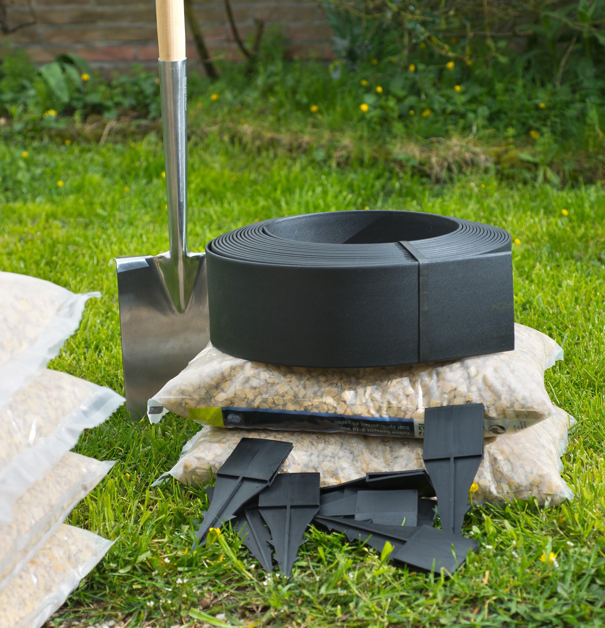 Bordure de jardin flexible couleur Noir