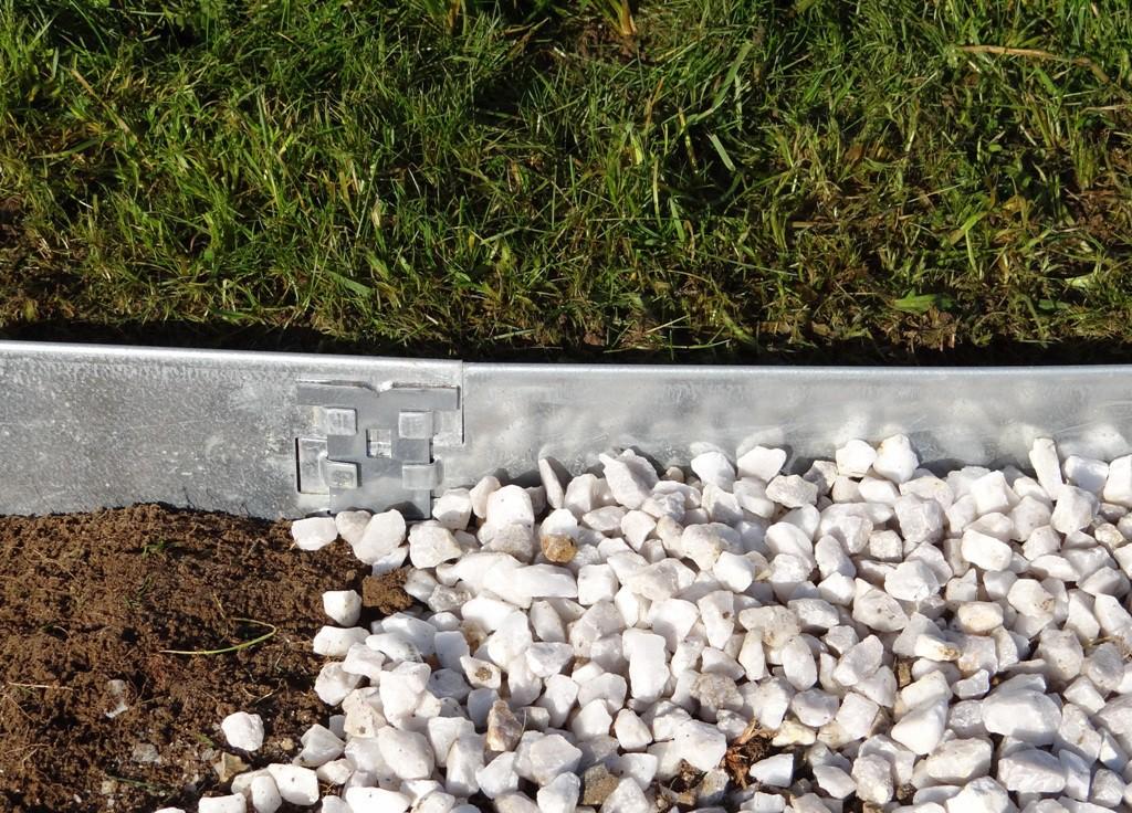 chantillon de bordure en acier galvanis jardinet. Black Bedroom Furniture Sets. Home Design Ideas