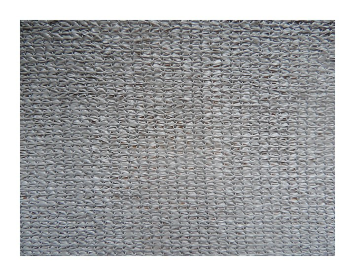 Filet brise vue gris clair 92 occultant 230gr m jardinet - Filet brise vue ...