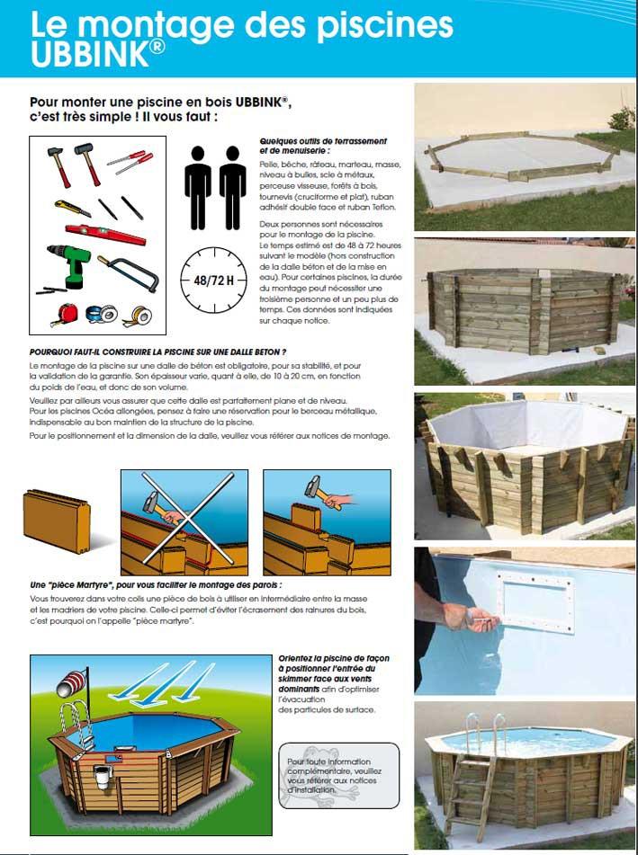 piscine hexagonale azura piscine en bois jardinet. Black Bedroom Furniture Sets. Home Design Ideas