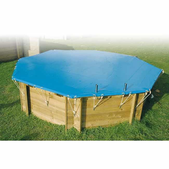 B che d 39 hivernage pour piscine jardinet for Bache filet hivernage piscine