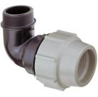 Coude 90° fileté Plasson FM-7850
