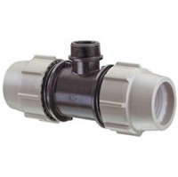Té fileté Plasson FMF-7840